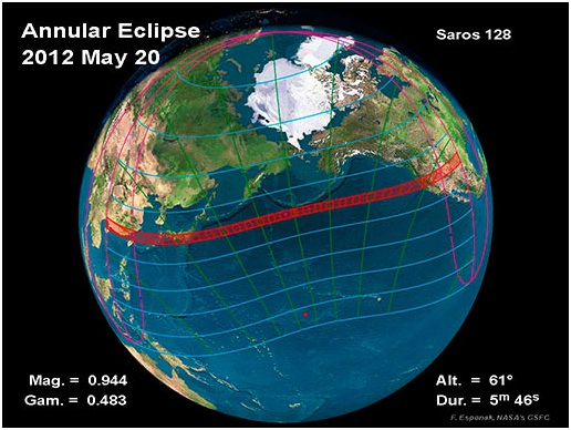 Solar Eclipse on May 20