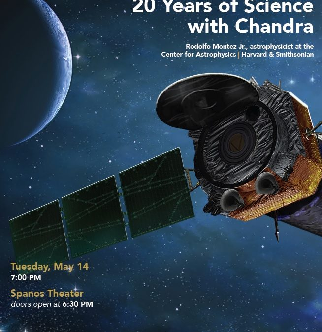Celebrating 20 years of the Chandra X-ray telescope
